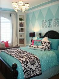A nicely put-together turquoise and black room, saved from