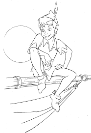 Peter Pan 3 Coloriage Peter Pan Coloriages Pour Enfants