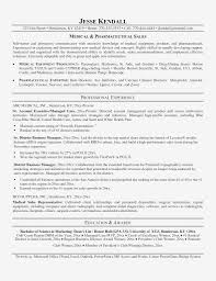 Entry Level Pharmaceutical Sales Resume Templates Objectives Jobs