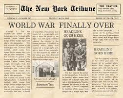 11x17 Newspaper Template 1930 Newspaper Template Barca Fontanacountryinn Com