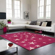 Pink Rugs For Living Room Play All Stars Pink Rug Therugshopuk