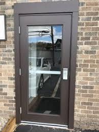 commercial steel entry doors. commercial steel entry door with safety glass doors