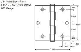 125n folding door hardware 741 hinge template
