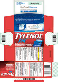 Mcneil Tylenol Dosing Chart Tylenol Pm Extra Strength Tablet Film Coated Johnson
