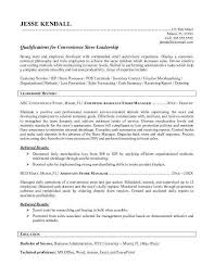 Loss Prevention Resume Best Of Grocery Store Manager Resume Example