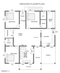 low budget double storied house kerala home design floor plans india within low budget house plan in kerala pictures