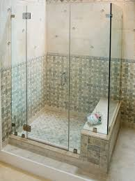 shower enclosures with bench. Beautiful Shower Frameless With Shower Enclosures Bench F