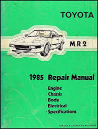 1985 toyota mr2 wiring diagram 1985 image wiring 1985 toyota mr2 wiring diagram manual original on 1985 toyota mr2 wiring diagram
