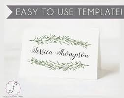 Holiday Placecards Holiday Place Cards Etsy