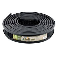 garden edging home depot. Interesting Garden Master Mark Lifetime Professional 40 Ft Recycled Plastic Landscape Lawn  Edging No Stakes Required Throughout Garden Home Depot Y