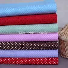 Cheap Cotton Fabrics For Quilting, find Cotton Fabrics For ... & Get Quotations · 40cm*50cm Freely Choose 7pcs Polka Dots Cotton Fabric  Patchwork Quilting Tilda Cloth home textiles Adamdwight.com