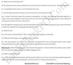 Top Interview Questions With Answers Sbi Ibps Po Clerk