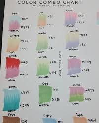 Alcohol Markers Color Combo Chart Testing 1 Curlytea Com