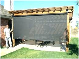 custom outdoor shades blinds home depot and marvellous patio bamboo with regard to exterior d custom outdoor shades blinds bamboo porch