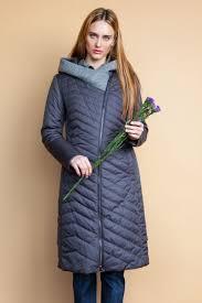 <b>Куртка</b> женская <b>Clasna</b>, цвет: темно-серый. CW18C-8539CW ...