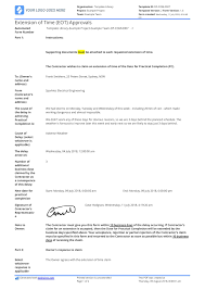 Sample Letter Of Extension Of Time For Construction Eot Letter