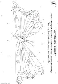 Caterpillar Coloring Sheet Hungry Caterpillar Coloring Page Free