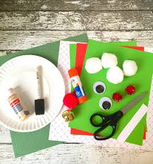Christmas Tree Shapes Practice CraftChristmas Paper Plate Crafts