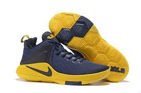 lebron mens basketball shoes. 2017 new nike lebron witness navy yellow mens basketball shoes lebron p