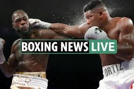 Boxing news LIVE: Joshua arrives in ...