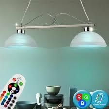 Decken Stil Landhaus Leuchte Hänge Led Rgb Lampe Glas