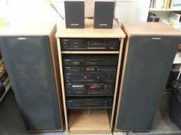 sound system components. pioneer component stereo system with surround sound components