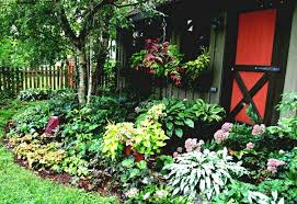 Small Picture The Best Of Garden Minimalist Look Of Perennial Flower Garden