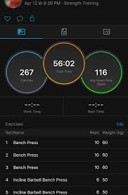 Weight Training Logs You Can Now Input Exercises In Strength Training Logs Garmin