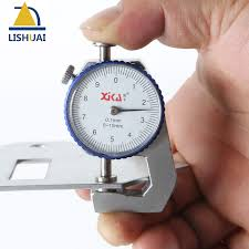 sheet metal measuring tools. 0 10mm/0.1mm dial thickness gauge flat head measuring tools for sheet metal \u0026leather-in gauges from home improvement on aliexpress.com | alibaba u