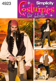 Pirate Costume Pattern Adorable 48 Simplicity Pattern Men S Pirate Costumes