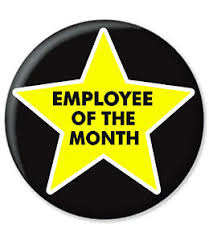 Employee Of The Month Award Details About Employee Of The Month Badge Star Employee Office Work Award Worker Gold Award