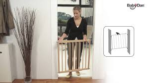 Babydan Designer Wood And Metal Gate Multidan Wood Safety Gate From Baby Dan