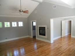 color of wood flooring with grey walls and white trim not sure if we have white trim or the wood color trim