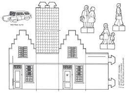 Gevelhuisjes Knutselen Google Zoeken School Papieren Huizen