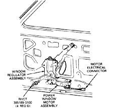 power windows and locks installation for an 85 ranger by budro click here for a diagram of the ranger bronco ii door glass components