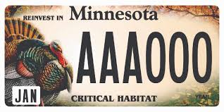 new car plate releaseDNR announces new wild turkey critical habitat license plate News