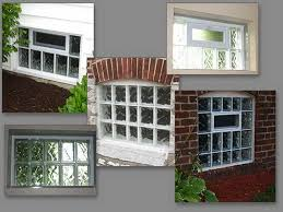 image of glass block basement windows options