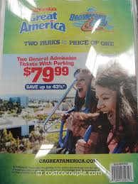 great america 2016 general admission tickets costco 1
