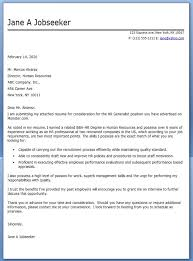 cover letter human resources sample hr recruiter cover letter