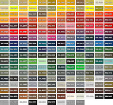 Ral Color Chart Pdf In 2019 Painting Old Furniture Ral
