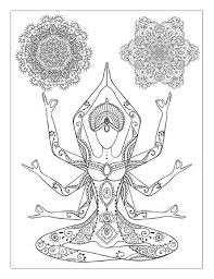 Yoga coloring pages many interesting cliparts. Yoga And Meditation Coloring Book For Adults With Yoga Poses And Mandalas Mandala Coloring Books Coloring Books Coloring Pages