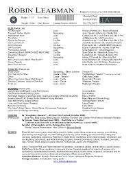 teacher resume skills t file me how to make an acting resume