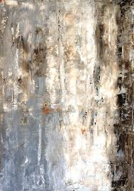 Brown Painting - Insightful - Grey And Brown Abstract Art Painting by  CarolLynn Tice