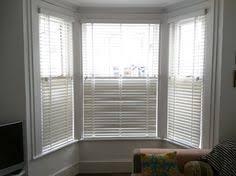 bay window blinds. Chalk Wood Venetians In Bay Window - Brighton Blinds