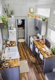 70 Incredible Tiny House Kitchen Decor Ideas Decorapartment Tiny House Kitchen Tiny Kitchen Tiny House Living