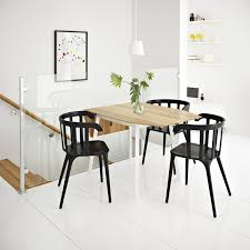wood top drop leaf dining table