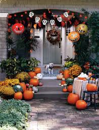 Outside Fall Decor Welcoming Atmosphere With Fall Decorations Ideas Room Furniture
