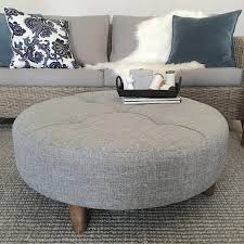 coffee table grey ottoman coffee table large round tufted storage canada acrylic oversized tables for