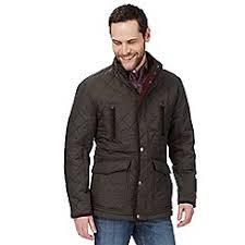 Men's Quilted Jackets | Debenhams & Maine New England - Chocolate brown quilted jacket Adamdwight.com
