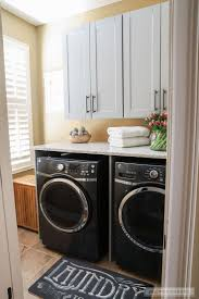 laundry room makeovers charming small. Beautiful Laundry Room Makeover With The Home Depot Makeovers Charming Small 1
